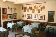Tuscan restaurant and wine cellars